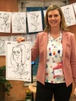 schnellzeichner daniel stieglitz kassel messezeichner iPad caricaturist live event karikaturist kassel kongresspalais marketwing 00033