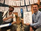 schnellzeichner daniel stieglitz kassel messezeichner iPad caricaturist live event karikaturist kassel kongresspalais marketwing 00054