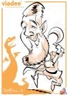 schnellzeichner daniel stieglitz kassel messezeichner iPad caricaturist live event karikaturist messe mainz JAX viadee