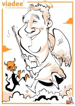 schnellzeichner daniel stieglitz kassel messezeichner iPad caricaturist live event karikaturist messe mainz JAX viadee 00013