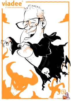 schnellzeichner daniel stieglitz kassel messezeichner iPad caricaturist live event karikaturist messe mainz JAX viadee 00016