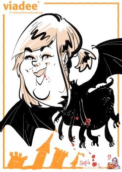 schnellzeichner daniel stieglitz kassel messezeichner iPad caricaturist live event karikaturist messe mainz JAX viadee 00019