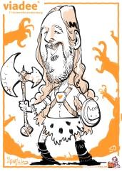 schnellzeichner daniel stieglitz kassel messezeichner iPad caricaturist live event karikaturist messe mainz JAX viadee 00031