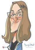 schnellzeichner daniel stieglitz kassel messezeichner iPad caricaturist live event karikaturist messe plentymarkets 00020