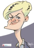 schnellzeichner daniel stieglitz kassel messezeichner iPad caricaturist live event karikaturist messe plentymarkets 00021