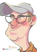 schnellzeichner daniel stieglitz kassel messezeichner iPad caricaturist live event karikaturist messe plentymarkets 00023