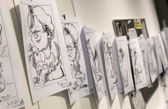 schnellzeichner daniel stieglitz messezeichner caricaturist live event karikaturist weihnachtsfeier lippstadt 00002