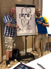 schnellzeichner daniel stieglitz messezeichner iPad caricaturist live event karikaturist montmartre eindhoven minicon niederlande 00068