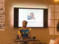 schnellzeichner daniel stieglitz messezeichner iPad caricaturist live event karikaturist montmartre eindhoven minicon niederlande 00092