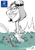 schnellzeichner daniel stieglitz münchen iPad caricaturist live event karikaturist firmenfeier 00043