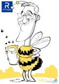 schnellzeichner daniel stieglitz münchen iPad caricaturist live event karikaturist firmenfeier 00050