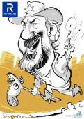 schnellzeichner daniel stieglitz münchen iPad caricaturist live event karikaturist firmenfeier 00094