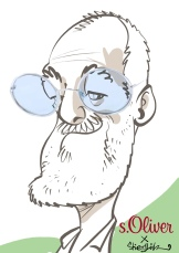 schnellzeichner daniel stieglitz kassel messezeichner iPad caricaturist live event karikaturist messe about you münchen