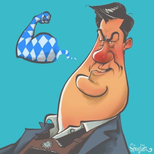 markus söder Karikatur Caricature Caricatura Schnellzeichner Daniel Stieglitz Karikaturist Corona Covid19